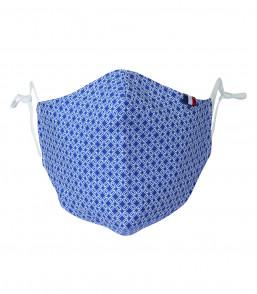 MaskCP30C sport imp géométrique bleu face