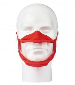 MASKINCLUSIF ADULTE rouge face