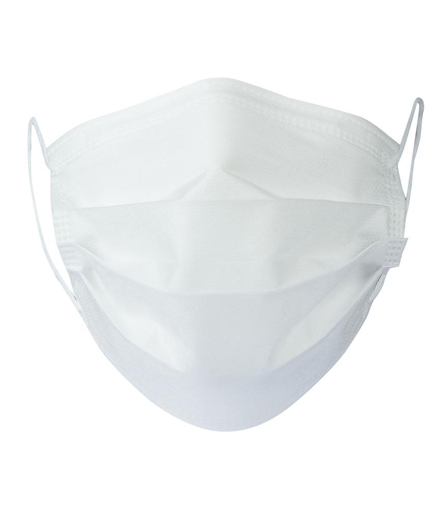MASKPP7030 ADULTE blanc face