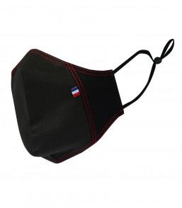 MASQUE TEDDY (PPRO) noir surp rouge profil