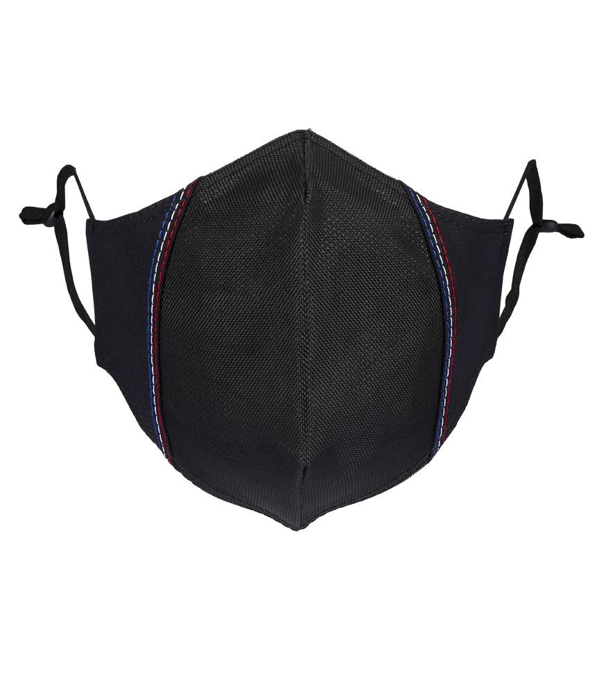MASQUE TYSON (POLYPP) noir face surp bleu blanc rouge